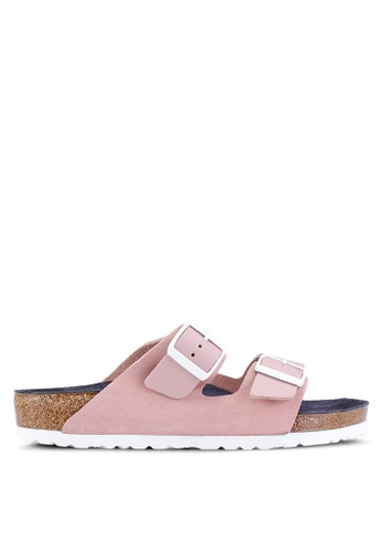 b8ec3d942b7f Shop Birkenstock Arizona Natural Leather Sandals Online on ZALORA  Philippines