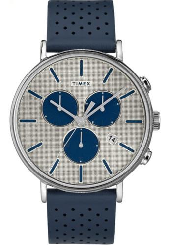 Timex blue and silver Timex Fairfield Chronograph Supernova™ TW2R97700 48558AC5195AFCGS_1