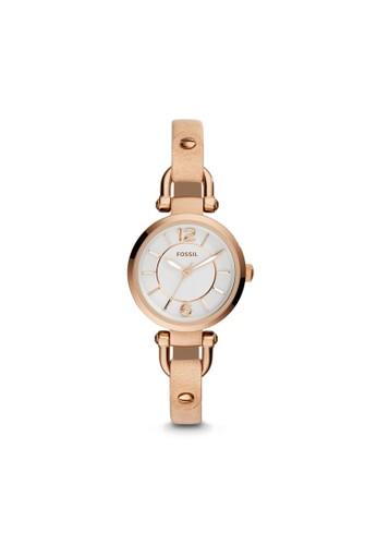 Fossil GEesprit 香港 outletORGIA淑女型女錶 ES3745, 錶類, 淑女錶
