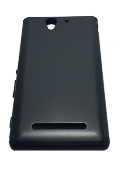 Sleek Shockproof Case for Sony Xperia C3 (Black)