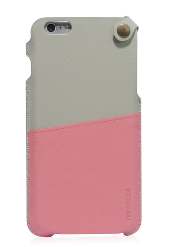 Monocozzi pink Posh Soft Leather Pouch For iPhone 6 Plus MO983AC78BWNHK_1