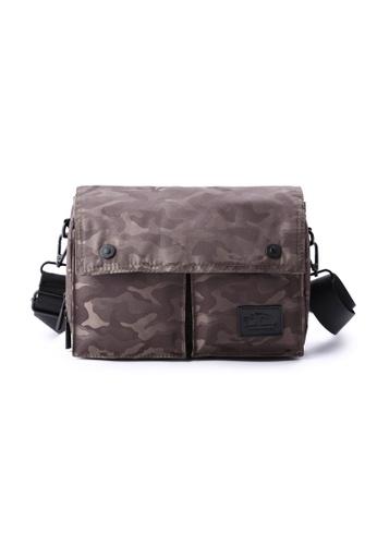The Dude green Wander Sling Bag TH373AC68RFBHK_1