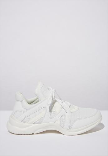 Rubi white Lauren Sneaker  6AD93SH9C4A9FEGS_1