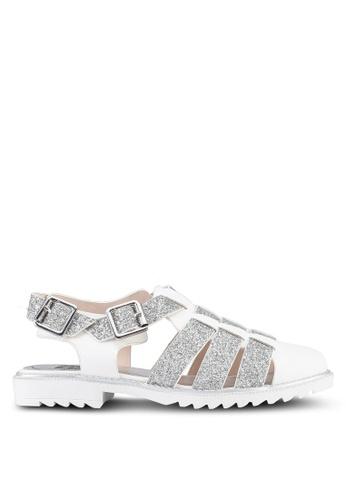 BETSY white Summer Sandals 75D8BSH52637EEGS_1