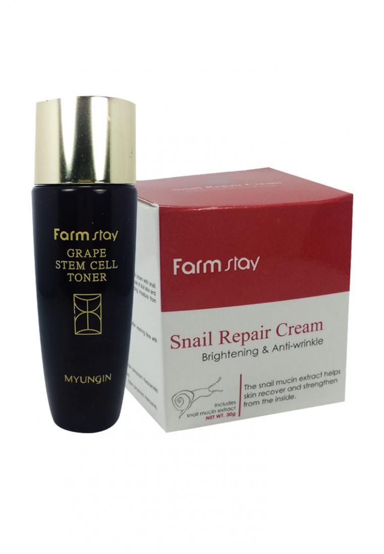 Snail Cream + Grape Toner Trial Pack