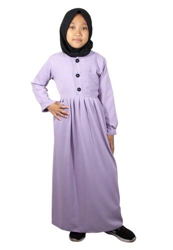 Java Seven Muslimwear purple Fathir020 GAMIS ANAK ANAK PEREMPUAN A72AAKACF2685BGS_1