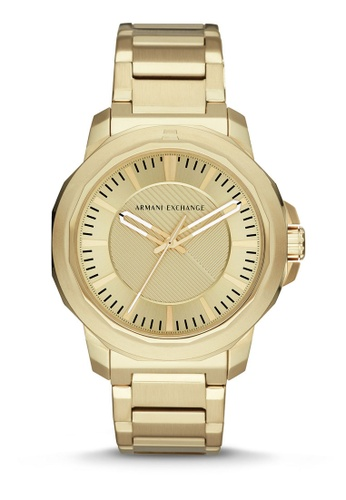 Armani Exchange gold Armani Exchange Ryder Watch AX1901 5BA6DAC9921F4FGS_1