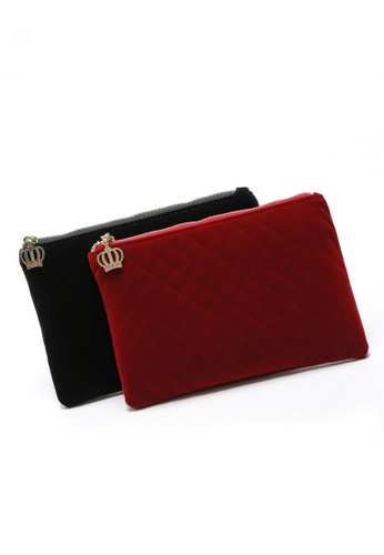 LULUGIFT Lulugift 2 in 1 Clutch bag LU989AC0RDHMMY_1