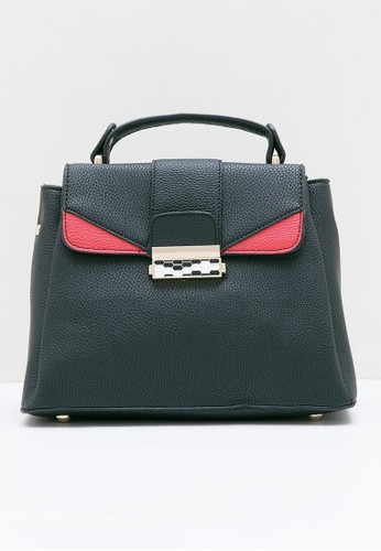 Berrybenka Label black Cheongju Martin Satchel Bags Black 6E4E3ACEB7236FGS_1