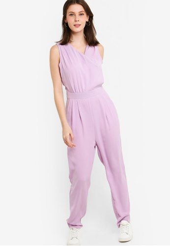 21e99d8fb07 Shop ZALORA Overlap Jumpsuit Online on ZALORA Philippines