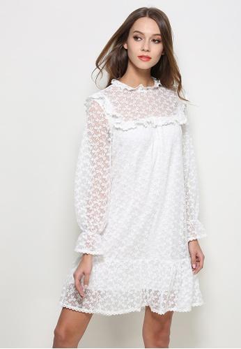Sunnydaysweety white New White Lace One Piece Dress C03100 SU219AA0GQU0SG_1