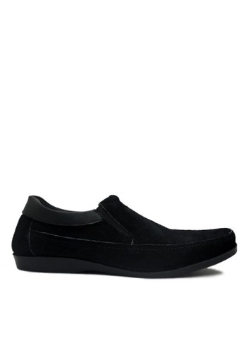 D-Island black D-Island Shoes Slip On Elegant Genuine Leather Black DI594SH03GKEID_1