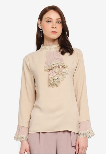 BYN beige Lolita Style Shirt ADA81AAC667982GS_1