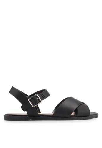 Bata black Harper Sandals 093F7SH49F8BCBGS_1