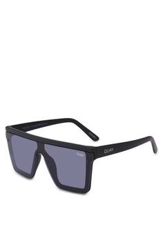c46e1ccf16 Quay Australia black Hindsight Sunglasses 3E4DAGLC5AE22FGS 1