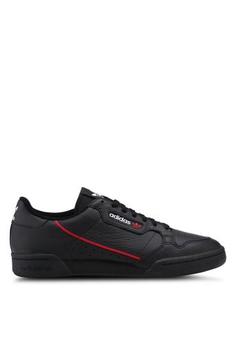 adidas black adidas originals continental 80 6B157SH247E0ACGS_1