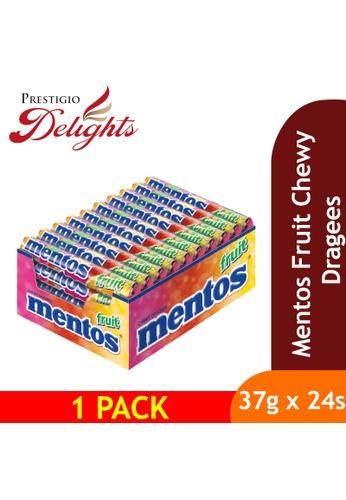 Prestigio Delights Mentos Fruit Chewy Dragees 37g x 24s 03A84ES2481DFCGS_1