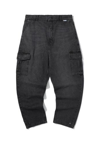 Fivecm black Cargo jeans 5C9F9AA25BD92BGS_1