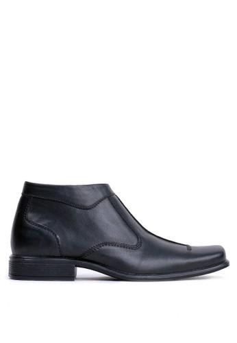 Tony Perotti black Tony Perotti Boots Blake - Black E64EDSHC1B415DGS_1