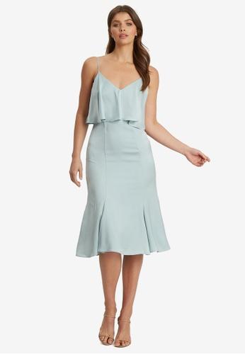 Chancery blue Raeylynn Midi Dress 0B3C3AA3D9B31DGS_1