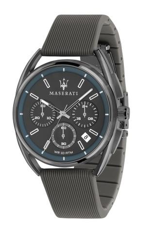 Maserati grey Maserati Trimarano Gray Silicon Band Quartz Chronograph Watches R8871632003 1F285ACAF84FEDGS_1