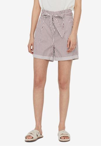 Vero Moda white Eva Paperbag Shorts 4D478AA5D913E2GS_1