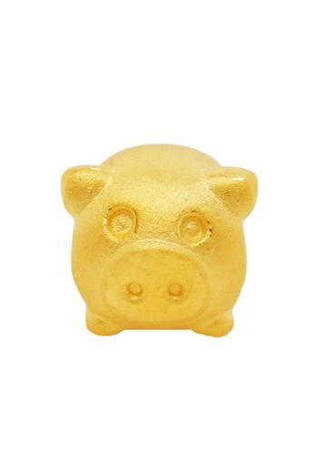 LITZ gold [Free Bracelet] LITZ 999 (24K) Gold Pig Charm EPC0640 6535BAC6CCE68CGS_1