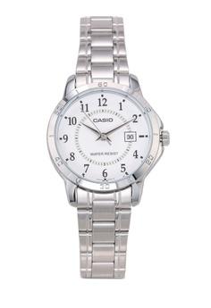 9b365af322915 Casio silver Casio LTP-V004D-7BUDF Watch B834CACCC9C180GS_1