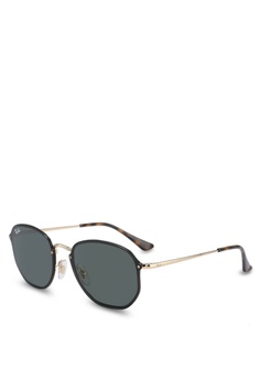 401ea257610 Ray-Ban gold Ray-Ban RB3579N Sunglasses 191A6GLC828C56GS 1
