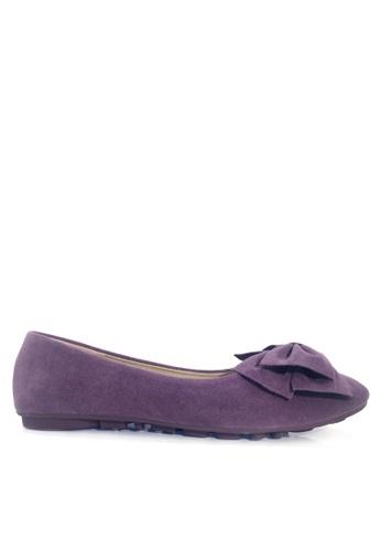 Twenty Eight Shoes purple Puffy Bow Ballerinas VL1323 2CFC1SH039798DGS_1