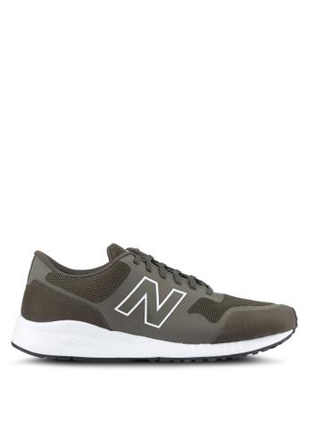 New Balance green 5 Modern Classics Lifestyle Sneakers NE323SH0SS0BMY_1