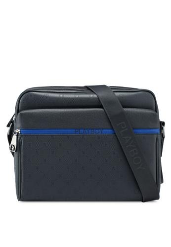 Playboy blue Sling Bag DA898AC2CA0346GS_1