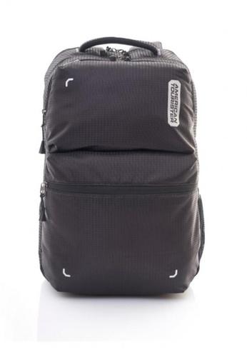 American Tourister black Dodge Backpack Lpt 03 CA0C3AC4D01AB4GS_1