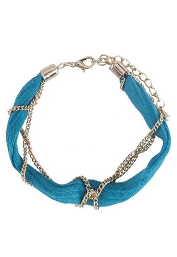 綢緞鍊飾手鍊, 飾品配件,zalora是哪裡的牌子 飾品配件