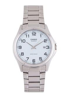 Casio MTP-1183A-7BDF 不銹鋼三指針鍊錶