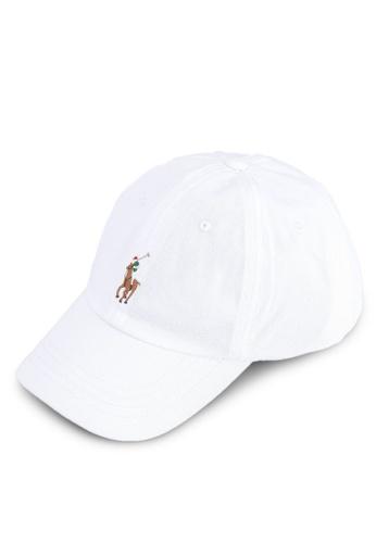 polo ralph lauren white Classic Stretch Twill Sports Cap 2D7C0AC7E456F0GS_1