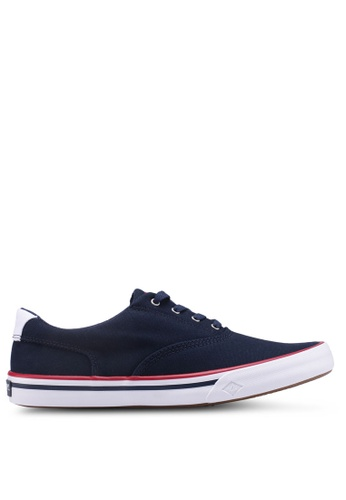 Sperry navy Striper II CVO Nautical Sneakers 3D7BDSH56AC6EDGS_1
