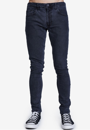 Cotton On navy Super Skinny Jeans C66A9AA0CD63E4GS_1