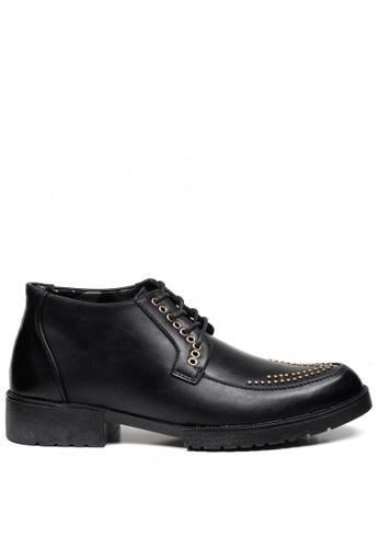 London Fashion black Dante A22 Formal Leather Shoes for Men LO229SH0JGBKPH_1