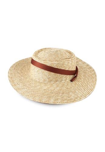 LOWRYS FARM brown Ribbon Hat 5CDBEACC028F7DGS_1