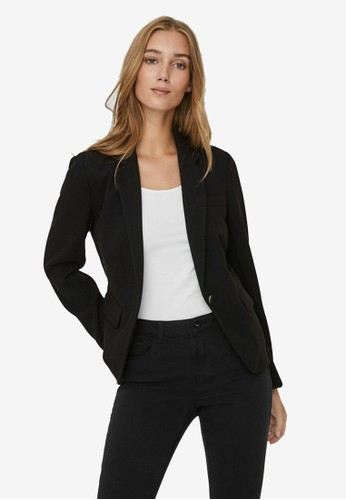 Vero Moda black Long Sleeved Blazer 7A2E7AA2856565GS_1