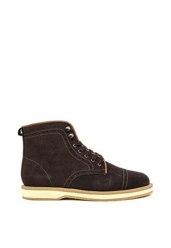 Ftale Footwear brown Ftale - Marco Suede Brown 46D9DSH768B86FGS_1