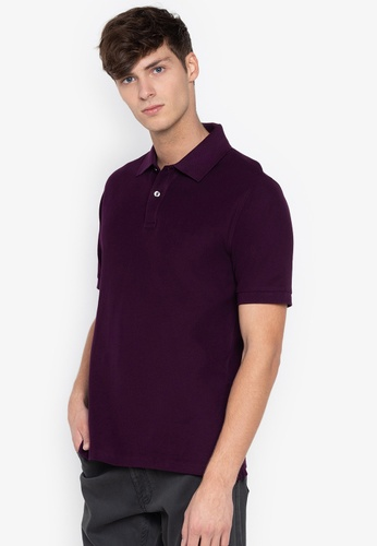 53a5e4da3766 Shop MARKS   SPENCER Pure Cotton Pique Polo Shirt Online on ZALORA  Philippines