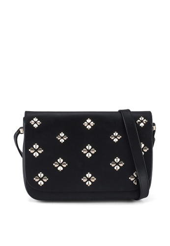 kate spade new york black Medium Flap Shoulder Bag (cv) 0FECDACCAA476DGS_1