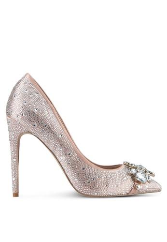 Carvela KG beige Diamante High Heels CA459SH0SD2PMY_1