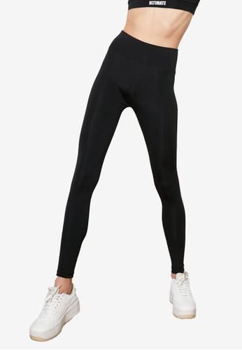Trendyol black High Waist Sports Leggings 18C02AAFDF7496GS_1