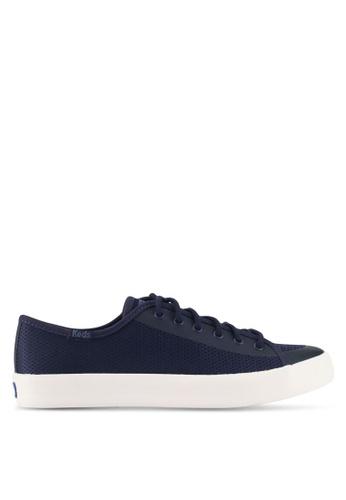 Keds navy Kickstart Diamond Mesh Sneakers KE942SH0STFZMY_1