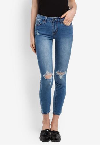 Factorie blue The Mid-Rise Skinny Jeans CD4CBAAC75D1D1GS_1