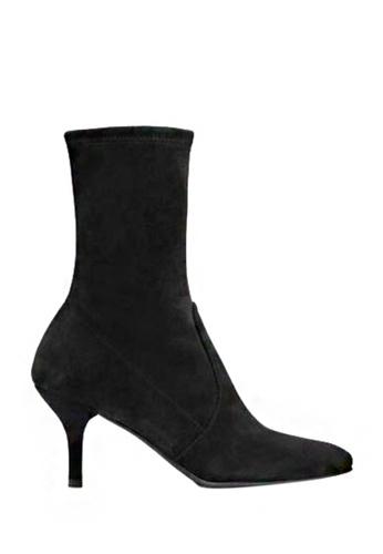 Twenty Eight Shoes black Socking Pointy Toe Boots 281 TW446SH2V3JZHK_1