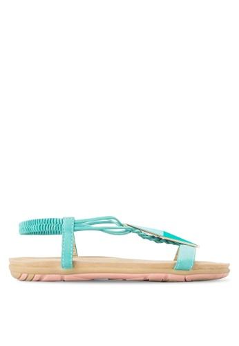 St3p green Diamond Sandals ST395SH44LXJMY_1